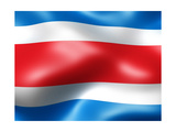 Thailand Country Flag 3D Illustration Prints by  pling