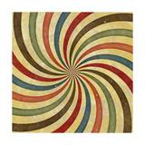 60'S 70'S Groovy Retro Swirl Funky Wild Spiral Rays Prints by  ShutterMama