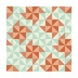 Seamless Geometric Pattern With Origami Elements Prints by  incomible