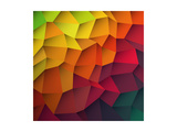 Abstract Colorful Patches Background Art by  pashabo