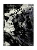 Abstract Black Ink Painting On Grunge Paper Texture Posters by  run4it