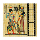 Egyptian Background With Film Strip Posters by  Maugli-l
