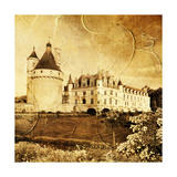 Picture In Artistic Style Of Chenonceau Castle Prints by  Maugli-l