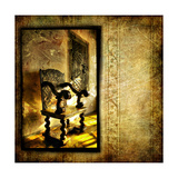 Inside Medieval Castle - Artwork In Grunge Style Art by  Maugli-l