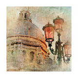 Venetian Pictures - Artwork In Painting Style Prints by  Maugli-l