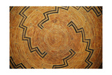 A Native American Woven Basket Pattern Poster by  Space-Heater