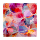 Multicolored Background Watercolor Painting Prints by  epic44
