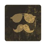 Grunge Illustration Of Vintage Face Prints by  pashabo