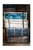 Vintage Luggage Crates, Boxes, Suitcases Prints by  f9photos