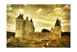 Medieval French Castle - Artistic Toned Picture Art by  Maugli-l