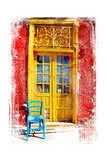 Old Traditional Greek Doors - Artwork In Painting Style Posters by  Maugli-l