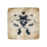 An Image Of An Old Paper With Rorschach Graphic Posters by  magann