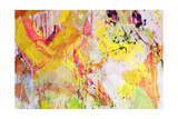 Mixed Technics, Expression Abstract Painting Print by  dpaint
