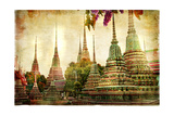 Amazing Bangkok - Artwork In Painting Style Posters by  Maugli-l