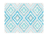 Abstract Geometric Seamless Aztec Pattern. Colorful Ikat Style Pattern Print by cherry blossom girl