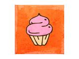 Pink Cake Prints by Ozerina Anna