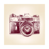 Vintage Old Photo Camera Prints by  VladisChern