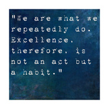 Inspirational Quote By On Earthy Background Prints by  nagib