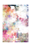 Abstract Grunge Texture With Watercolor Paint Splatter Prints by  run4it