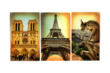 Paris Paris.. Vintage Photoalbum Series Print by  Maugli-l