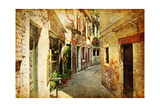 Venetian Streets - Artwork In Painting Style Prints by  Maugli-l