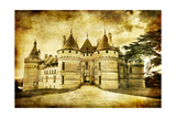 Chaumont Castle - Artistic Toned Picture In Retro Style Posters by  Maugli-l