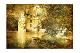 Romantic Castle - Artistic Toned Picture In Retro Style Posters by  Maugli-l