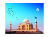 Taj Mahal Palace In India. Indian Temple Tajmahal Prints by  SergWSQ