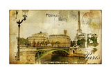 Paris Paris.. Vintage Photoalbum Series Prints by  Maugli-l