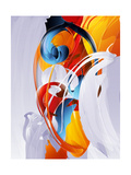 Abstract Graphic, Bright In Graffiti Prints by  fet