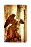 Praying Angel - Artistic Picture In Retro Style Prints by  Maugli-l
