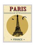 Eiffel Tower Tower From Paris Poster Posters par  radubalint
