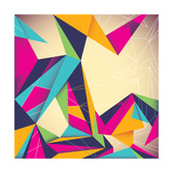 Colorful Illustrated Abstraction Premium Giclee Print by  Rashomon