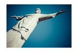 Christ The Redeemer Statue In Rio De Janeiro In Brazil Posters by Mariusz Prusaczyk