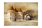 Medieval Castles Of Old France - Picture In Painting Style Pósters por  Maugli-l