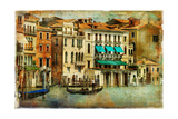 Romantic Venice - Artwork In Painting Style Prints by  Maugli-l