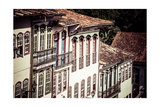 View Of The Unesco World Heritage City Of Ouro Preto In Minas Gerais Brazil Posters by Mariusz Prusaczyk