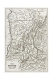 Dauphine Old Map, France Posters by  marzolino