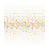 Multicolored Dot Background Posters by  katritch