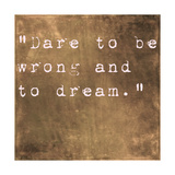 Inspirational Quote By Friedrich Von Schiller On Earthy Brown Background Posters by  nagib