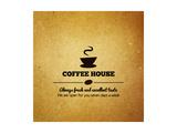 Vintage Menu For Restaurant, Cafe, Bar, Coffee House Kunstdrucke von  irur