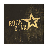 Rock Star Grunge Icon Prints by  pashabo