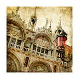 San Marco Square -Artwork In Painting Style Poster by  Maugli-l