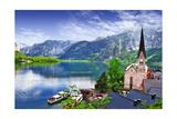 Hallstatt - Beauty Of Alps. Austria Print by  Maugli-l