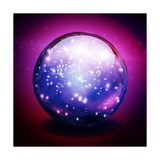 Crystal Ball With Lights Prints by  rolffimages