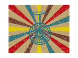 Vintage Circus Unicycle Prints by  ashlees