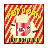 Pop Corn Vintage Poster Art by  radubalint