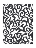 Black And White Texture Posters by  orson