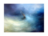 Seascape Storm In The Indian Ocean Posters by  yakimenko