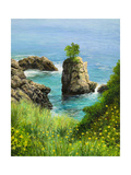 La Grotta On Island Corfu Prints by  kirilstanchev